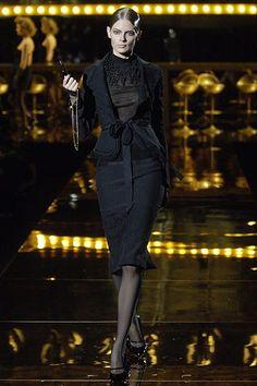 Antonio Berardi Fall 2006 Ready-to-Wear Fashion Show - Julia Stegner