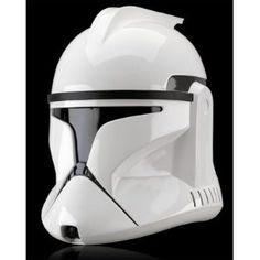 Réplique Star Wars Casque Clone Trooper Episode II #starwars #logostore