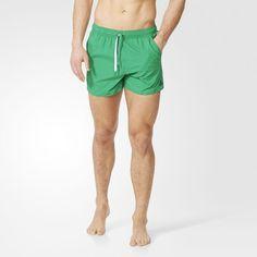 Plavky 3-Stripes - zelená