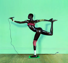 Iconic image of Grace Jones photographed by Jean-Paul Goude