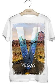 Camiseta Masculina Vegas - Red Feather varejo - CÓDIGO PROMOCIONAL: REDRJ