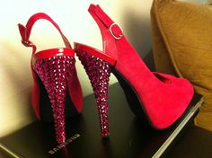 Swarvoski Wedding High Heels Bridal heels by ANGELESQUEstilettos, $189.00