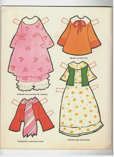 Dolls from Spain and Mexico - Ulla Dahlstedt - Picasa Webalbum* For lots of free Christmas paper dolls International Paper Doll Society #ArielleGabriel artist #ArtrA thanks to Pinterest paper doll & holiday collectors for sharing *