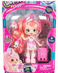 Shopkins Shoppies Season 8 Wave 3 World Vacation Pinkie Cola Visits America Shoppies Dolls, Shopkins And Shoppies, Shopkins World Vacation, Shopkins Game, Shopkins Room, Shopkins Happy Places, Modern Toys, Dollhouse Kits, All Toys