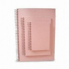 Durable Pink Art Paper Notebooks