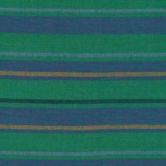 Kaffe Fassett - Woven Stripes - Alternating Stripe in Teal