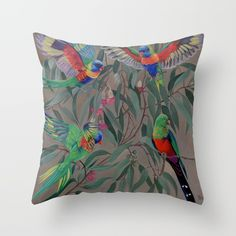 Throw Pillow made from 100% spun polyester poplin fabric, a stylish statement that will liven up any room. Individually cut and sewn by hand, each pillow features a double-sided print and is finished with a concealed zipper for ease of care.  Sold with or without faux down pillow insert. Down Pillows, Throw Pillows, Poplin Fabric, Pillow Inserts, Hand Sewing, It Is Finished, Zipper, Stylish, Room