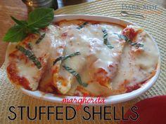 Margherita Stuffed Shells