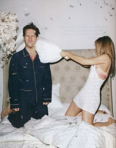 Paul Rudd & Jennifer Aniston, for GQ Magazine US (Photography by Terry Richardson) | 2012