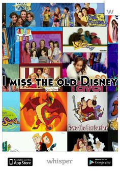 I miss the old Disney
