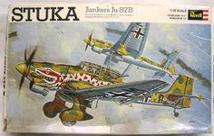 Revell 1/32 Junkers Ju-87B Stuka 'The Snake', H298-300 plastic model kit