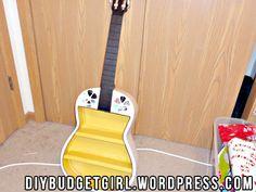 Guitar Shelf Guitar Shelf, Diy Projects, Shelves, Gift Ideas, Crafty, Gifts, Furniture, Home, Shelving