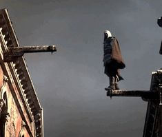 assassins creed animated. Please as if they would let you live after falling from that distance. I can barely jump off a low building without him dying