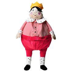 GULLGOSSE Soft toy - IKEA, king. Designer Silke Leffler. Fabric: 100 % polyester Filling: Polyester fiber fill