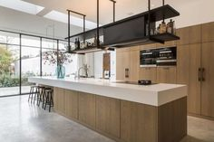 Contemporary style kitchen designs are among the methods to go. Rustic Kitchen Design, Farmhouse Style Kitchen, Modern Farmhouse Kitchens, Black Kitchens, Interior Design Kitchen, Home Kitchens, Black Kitchen Cabinets, Ikea Kitchen, Home Decor Kitchen