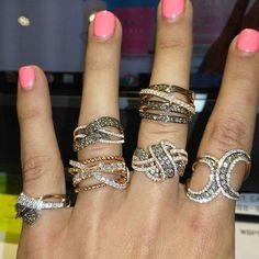 "@levian_jewelry. ""BAM! ✨ #levian #jewelry #diamonds #chocolatediamonds #gold #diamondjewelry #unique"""
