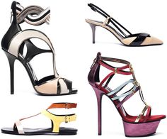 Diego Dolcini 2012 Spring and Summer Shoes Collection  This season it seems as though the fashion designers for shoes are always aiming for heavy competition in having the most exotic, sexy and unique shoes available for women to buy. Diego Dolcini