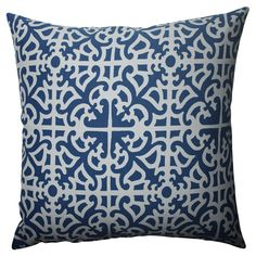 Goes nice with the anchor pillow. Navy, print is nice, goes with lime green or yellow. :)