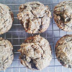 Banana Choc Chip Muffin - sugar free, grain free – The Big Lunchbox Revolution Larder, Grain Free, Paleo Recipes, Sugar Free, Grains, Lunch Box, Chips, Banana, Cookies