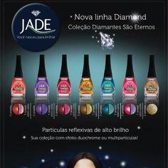 Novidades Jade Cosméticos! Linha Dimond!