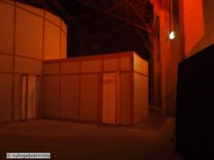 Zeche Zollverein das Salzlager perfect place for Model