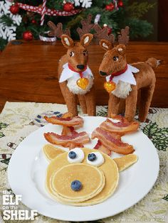 Elf Pets Reindeer | Like Looking In a Mirror | The Elf on the Shelf Ideas