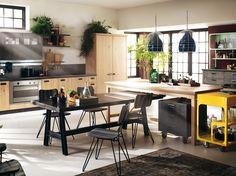 Lo stile industriale è sempre più amato e colonizza anche la cucina. Scopri con noi i modelli più belli e le ultime novità