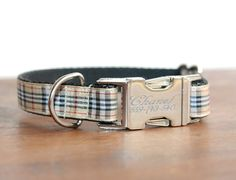 Hey, I found this really awesome Etsy listing at https://www.etsy.com/listing/215954095/personalized-collars-plaid-dog-collar
