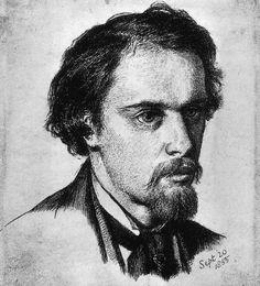 Dante Gabriel Rossetti - Self-Portrait  c.1855