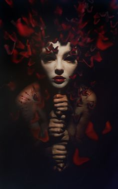"don't look to the eyes of the empty mask by dihaze.deviantart.com on @deviantART ""Gorgeous!!"""