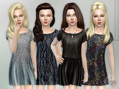 Lana CC Finds - Designer Dresses Collection P45 by lillka