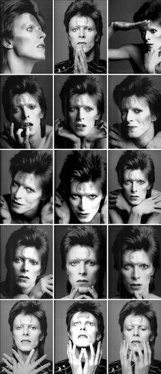 David Bowie, February 1973. Photo by © Masayoshi Sukita.