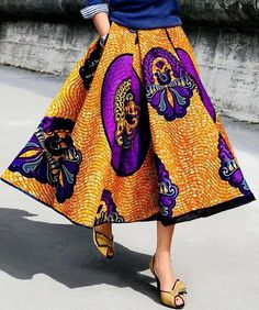 This skirt though...