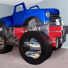 truck bedroom ideas | Ideas For Custom Contemporary Children's Furniture Designs ...