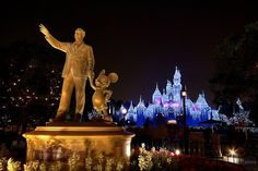 Christmas time at Disneyland is the happiest and most perfect place and time ever <3