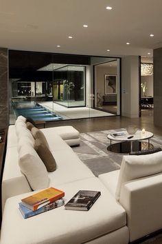 Nadire Atas on Scandinavian Bedrooms / Home Design Idea Best Luxury Modern Living Room Design and Decoration Ideas Dream Home Design, Modern House Design, Modern Interior Design, Interior Architecture, Modern Interiors, Interior Ideas, Simple Interior, Contemporary Interior, Room Interior