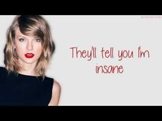 Taylor Swift - Blank Space (Lyrics) - YouTube> loving this song!
