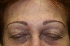 After- Permanent Makeup-Eyebrows -  MORNING GLORY PERMANENT MAKEUP-Spooner, WI 237 Walnut St.
