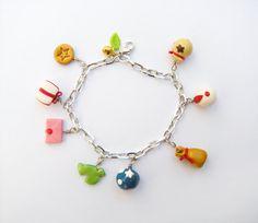 Animal Crossing: New Leaf inspired charm bracelet