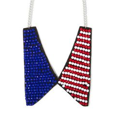 Stars and Stripes collar Necklace