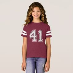 Number 41 (1-99) T-Shirt - birthday gifts party celebration custom gift ideas diy