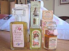 3 Vintage Avon California Perfume 1976 1978 Keepsake & Scentiments My Heart