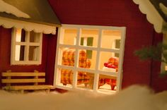 The inside of the miniature house Miniature Houses, Miniatures, Photoshoot, Photo Shoot, Photography, Mockup
