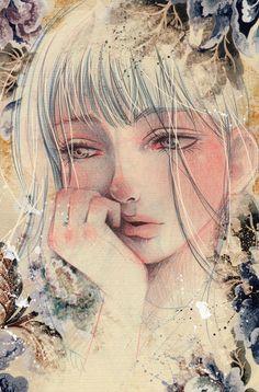 "Victoria Rivero, ""Blue Memories I"""