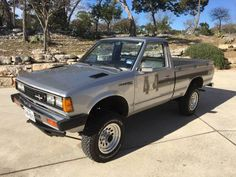 Learn more about Unusually Tidy: 1982 Datsun 720 on Bring a Trailer, the home of the best vintage and classic cars online. Nissan Pickup Truck, Nissan 4x4, Nissan Trucks, Pickup Trucks, Tonka Trucks, Pick Up Nissan, American Racing Wheels, First Time Driver, Best Car Insurance