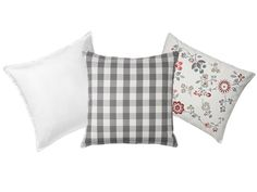 Mix and match cushion covers with HEDBLOMSTER, GURLI and SMANATE