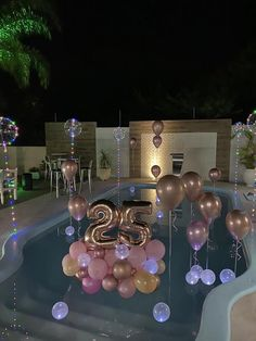 Birthday Balloon Decorations, Birthday Balloons, Birthday Party Decorations, Birthday Goals, 18th Birthday Party, 21st Birthday Basket, Birthday Ideas, Festa Party, Party Ideas