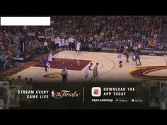 nice  NBA 파이널 골든스테이트 vs 클리블랜드 3차전 경기 하이라이트