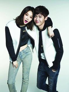 Lee Jong Suk and Kang Min Kyung release more couple shots as models for 'G by GUESS' | http://www.allkpop.com/article/2014/08/lee-jong-suk-and-kang-min-kyung-release-more-couple-shots-as-models-for-g-by-guess