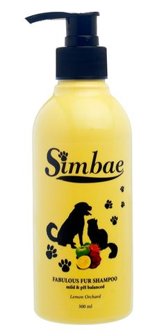 Simbae Fabulous Fur Shampoo uses a gentle, pH balanced solution that is suitable even for the most sensitive pet.